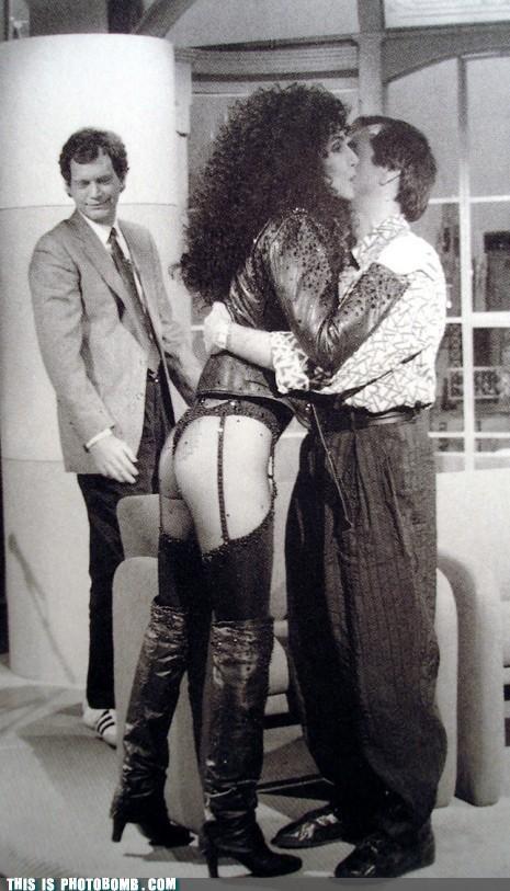 cher David Letterman photobomb - 4515281664