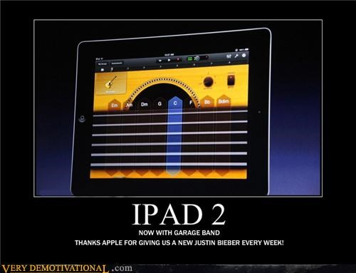 apple,garage band,ipad 2,justin bieber