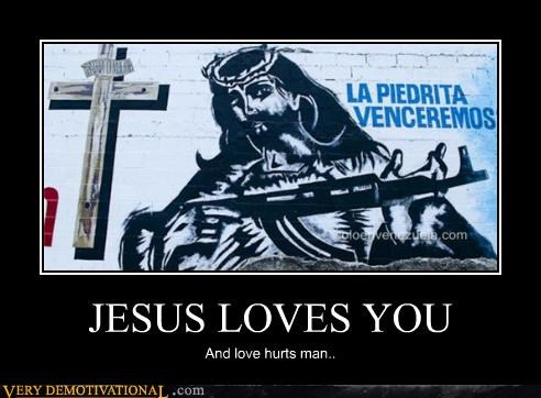 jesus,love,pain,weapon