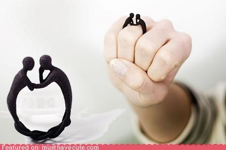 accessories couple Jewelry love lovers ring romatic - 4515545088
