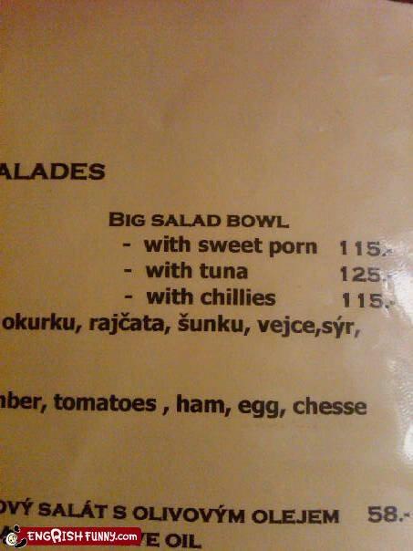 corn,menu,pr0n,salad
