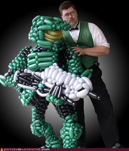 awesome Balloons halo magic master chief wtf - 4516027136