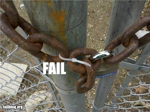 failboat gates g rated locked locks security ziptie - 4516061184
