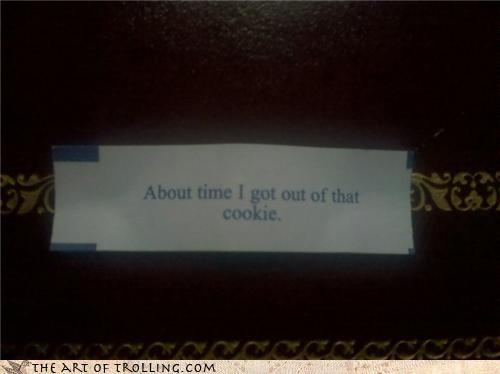 broken chinese food fortune cookies fortunes IRL meta puns - 4516109824
