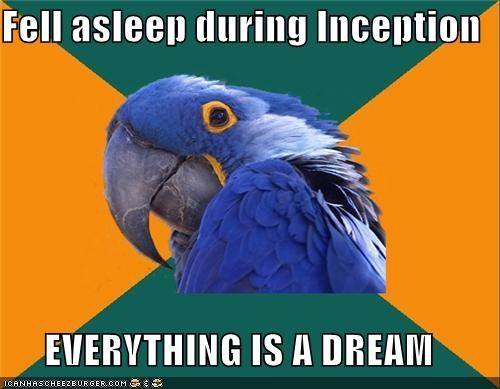 dream Inception Paranoid Parrot - 4516256256
