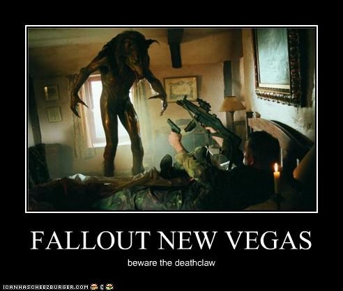 FALLOUT NEW VEGAS beware the deathclaw