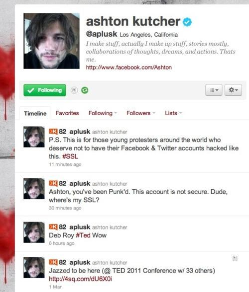 ashton kutcher,lol,tweet,twitter