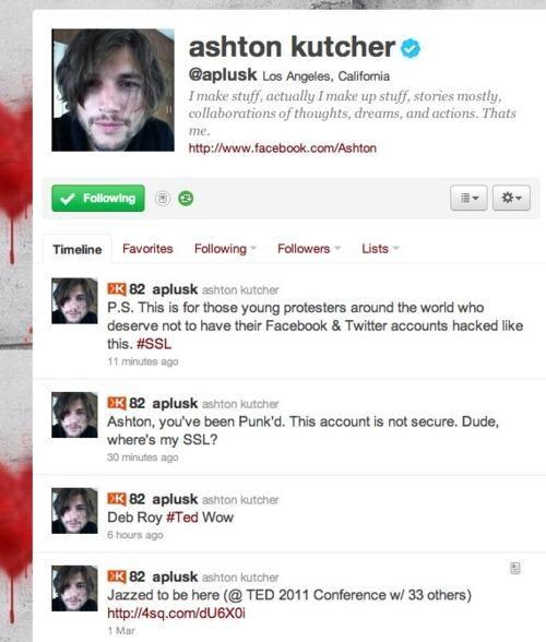 ashton kutcher lol tweet twitter - 4516718080