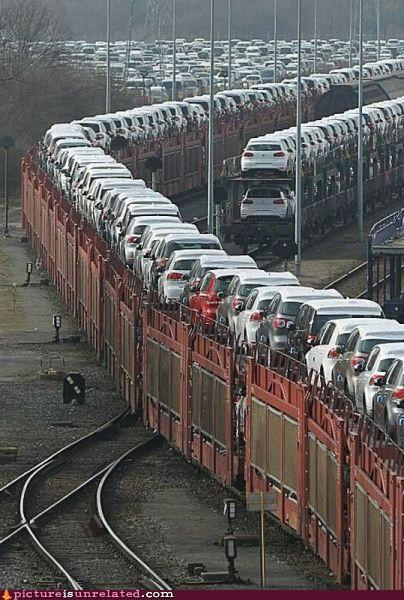 cars modern living OverKill 9000 railway trains wtf - 4516996352