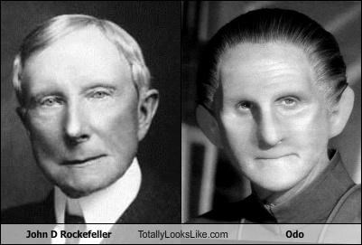 John D Rockefeller Totally Looks Like Odo