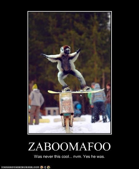 ZABOOMAFOO Was never this cool... nvm. Yes he was.