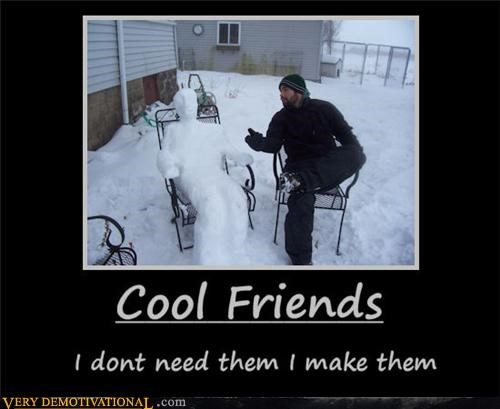 cool friends snow - 4517371904