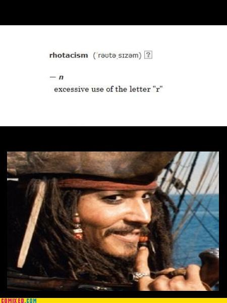Johnny Depp pirates pirates of the carribean puns - 4517412352