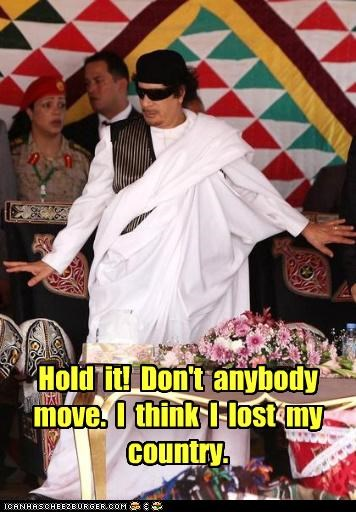 dictators,fashion,libya,lost,muammar al-gaddafi,pose
