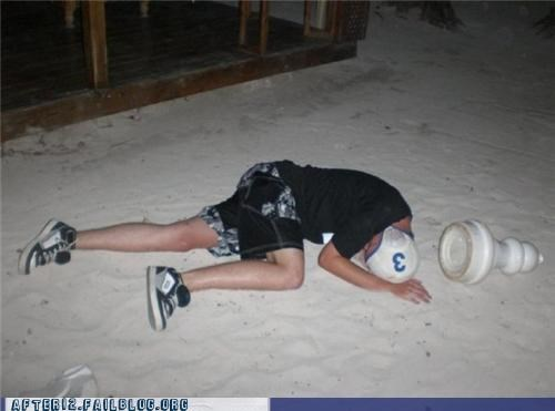 beach,chess,drunk,outdoors,passed out,pawn