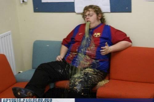 couch disgusting gross puke spew vomit - 4517807872