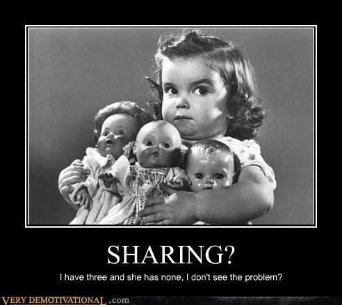 dolls kids sharing - 4517808384