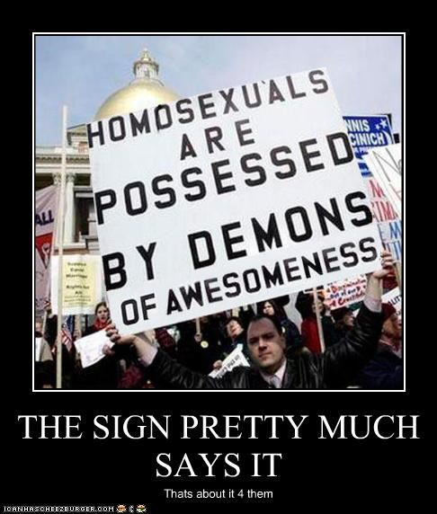 THE SIGN PRETTY MUCH SAYS IT Thats about it 4 them