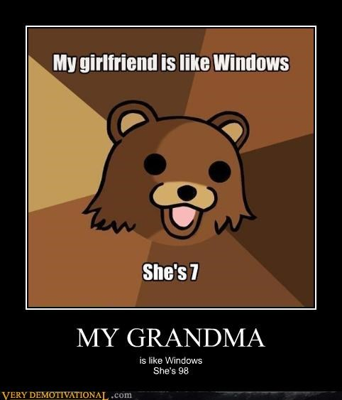 98 grandman pedobear seven windows - 4518337280