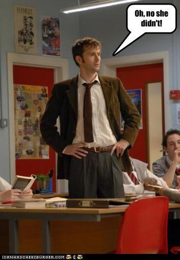 actor celeb David Tennant funny sci fi - 4518372096