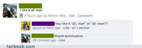 grammar,make your own fail,oops