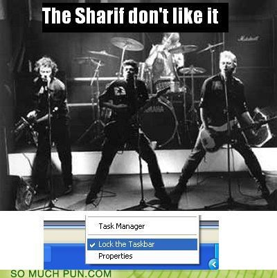 chorus computer lock lyric lyrics parody rewrite rhyme rhyming rock the casbah task bar the clash - 4518592512