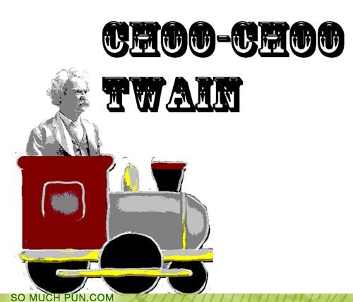 babytalk choo choo choo huckleberry finn mark twain onomatopoeia tom sawyer train - 4518594816