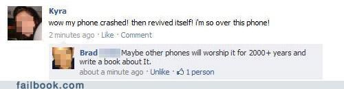 jesus,phone,technology,witty reply