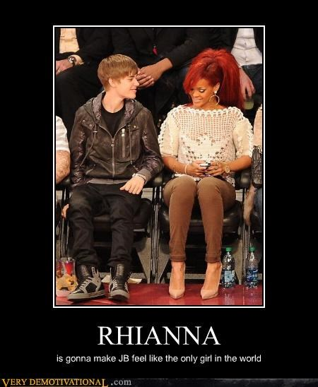 RHIANNA is gonna make JB feel like the only girl in the world