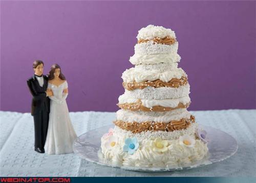 crazy cake funny wedding photos pbj peanut butter jelly wedding cake - 4518976768