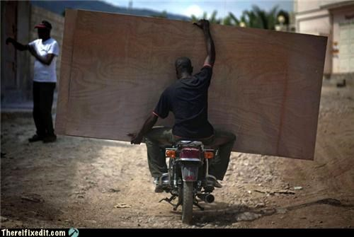 motorcycle plywood wtf - 4518978304