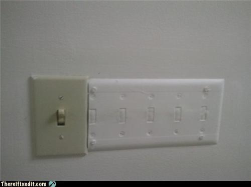 contractors green energy light switch - 4519468032
