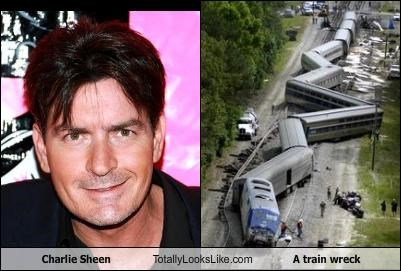 Charlie Sheen Totally Looks Like A train wreck