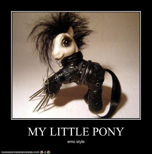 MY LITTLE PONY emo style