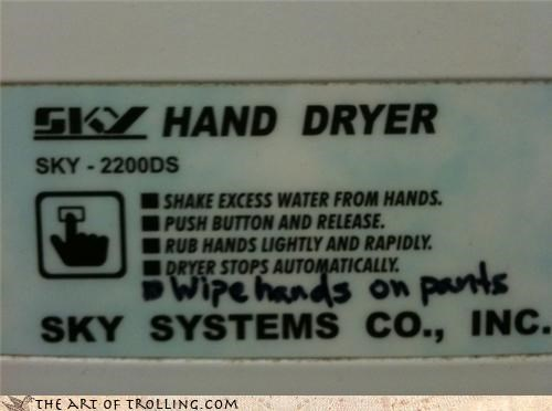 directions dryer hacked irl hands IRL pants - 4519846400