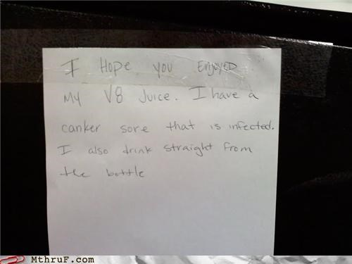 canker sore fridge infected passive aggressive thief v8 - 4519924736
