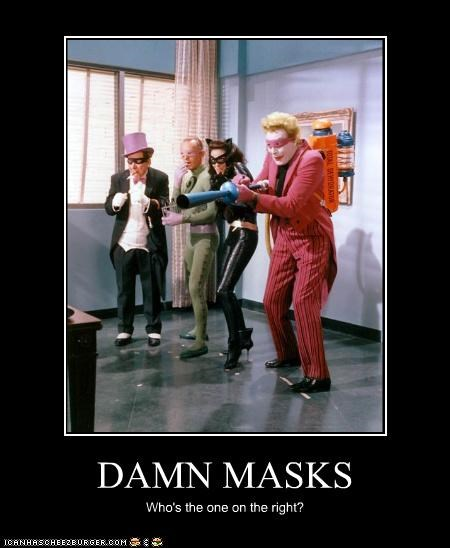 DAMN MASKS Who's the one on the right?