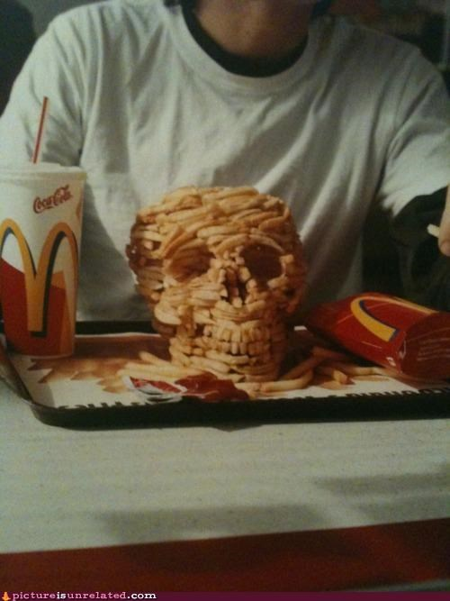 art,Death,food,McDonald's,nom nom nom,wtf