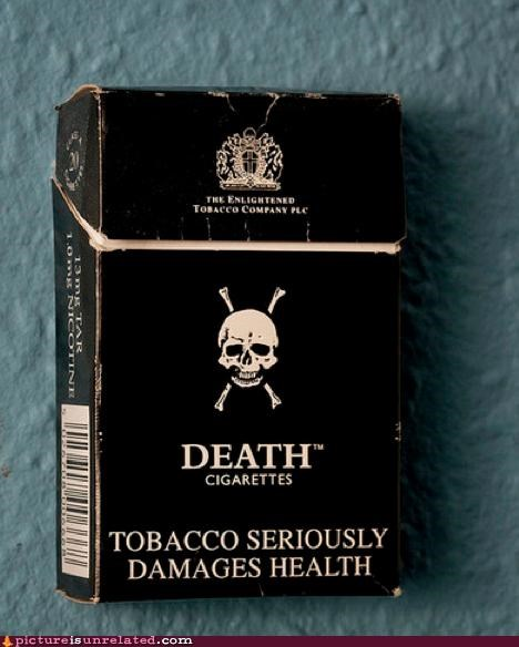 awesome cigarettes Death skulls smoking wtf - 4521156608