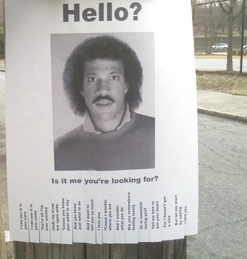 DIY,lionel richie,Lost Sign