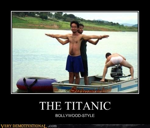 THE TITANIC BOLLYWOOD-STYLE