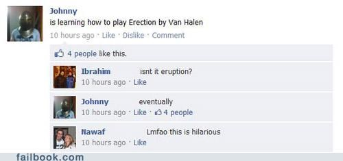 erection/eruption