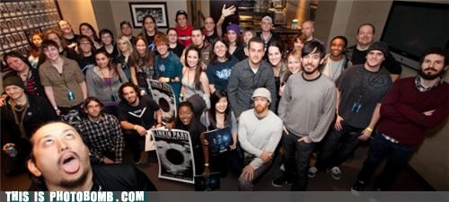 Celebrity Edition crawling in my skin linkin park photobomb - 4521724160