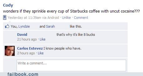 Charlie Sheen coffee Starbucks - 4522078976