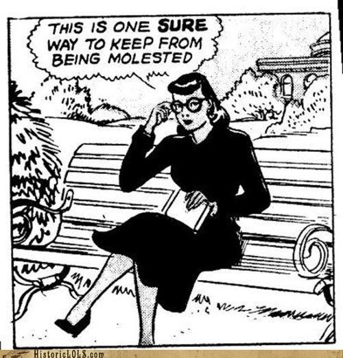 comic funny lady - 4522179584