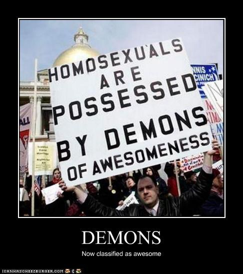 DEMONS Now classified as awesome