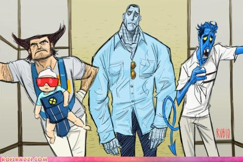 art cool Hall of Fame Movie The Hangover x men - 4522515200