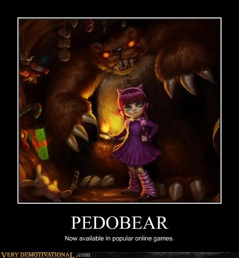 PEDOBEAR Now available in popular online games.