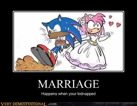 bad idea,kidnapped,marriage,sonic