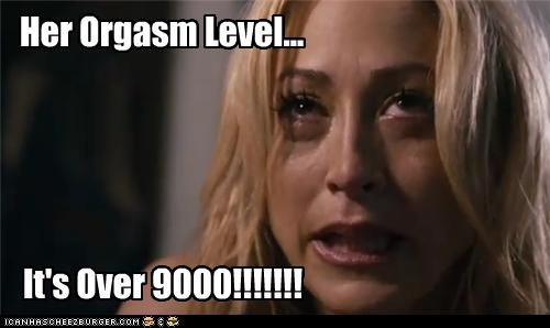Her Orgasm Level... It's Over 9000!!!!!!!